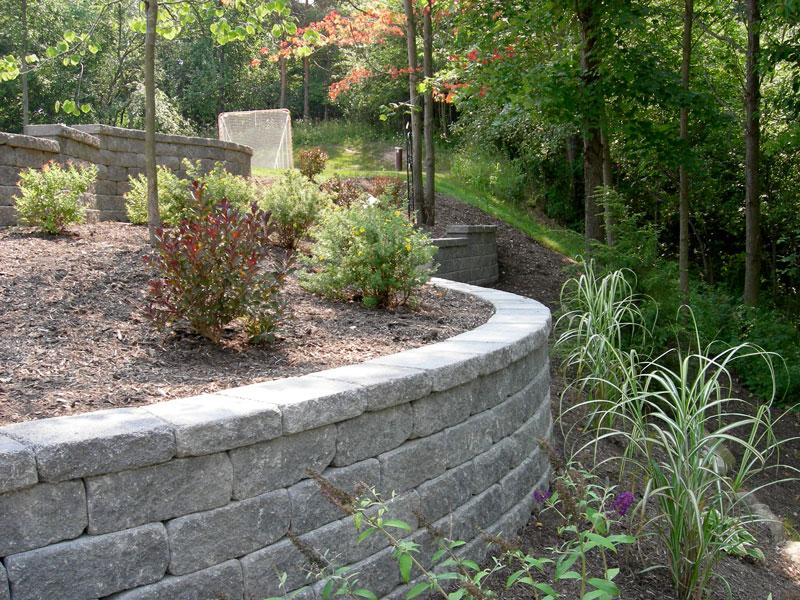 Image of Retaining Wall by Graf's Lawn & Landscaping LLC